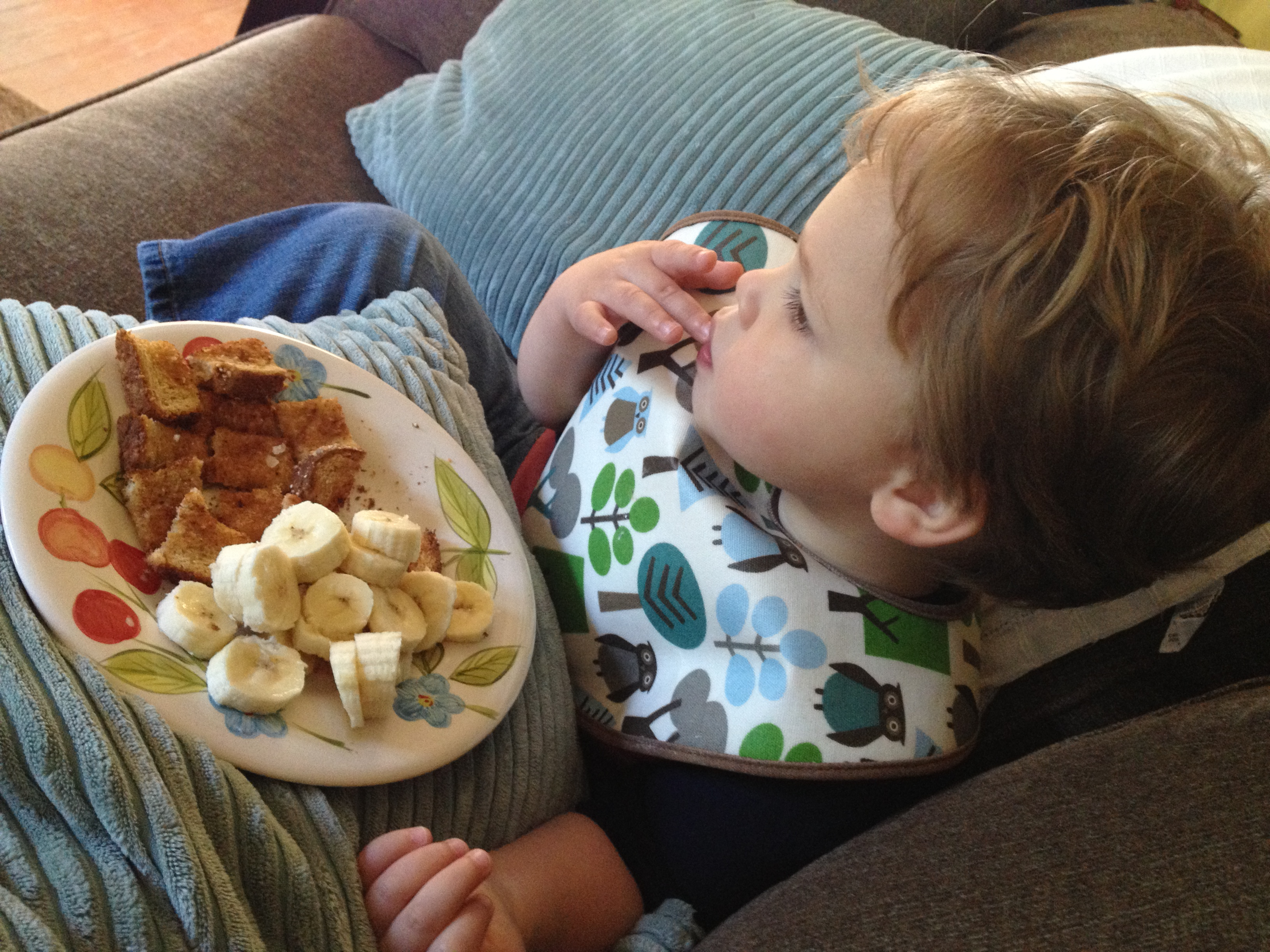"""""""special breakfast,"""" handy manny, and an ice pack. win."""