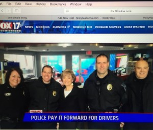 police pay it forward