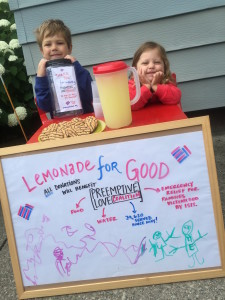 lemonade for good. open for business!
