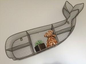 One of my first purchases for the nursery. I still need to fill it a bit more, but how cute is this shelf?! Pillowfort, by Target. (Jellycat giraffe from a sweet friend who knows my weakness for the animal ;) )